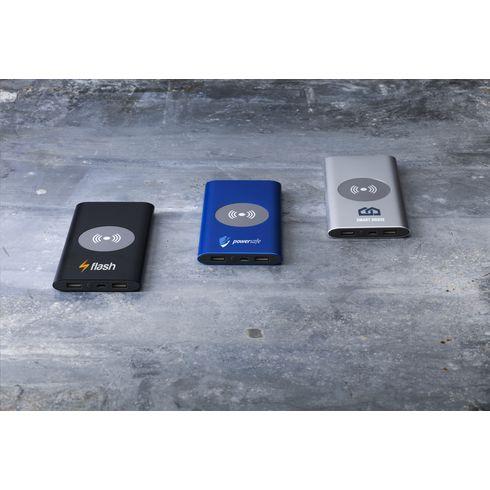 Aluminium 8000 Wireless Powerbank kabelloses Ladegerät