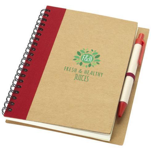 Priestly A6 Recycling Notizbuch mit Stift