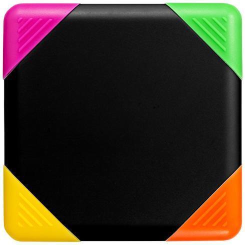 Trafalgar quadratischer vierfarbiger Marker