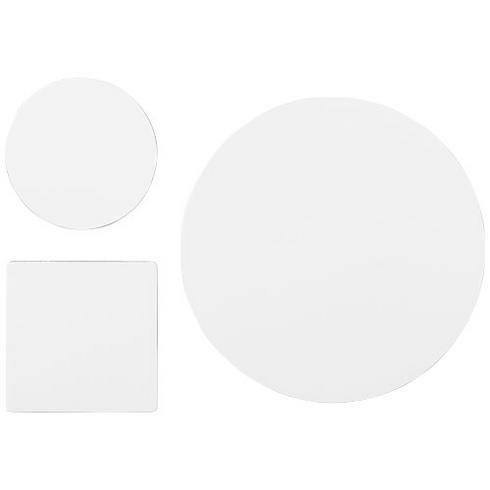 Q-Mat® Mousepad- und Untersetzer-Set 4