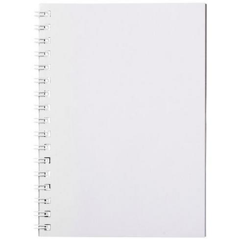 Desk-Mate® A6 Notizbuch mit Kunststoff Cover und Spiralbindung