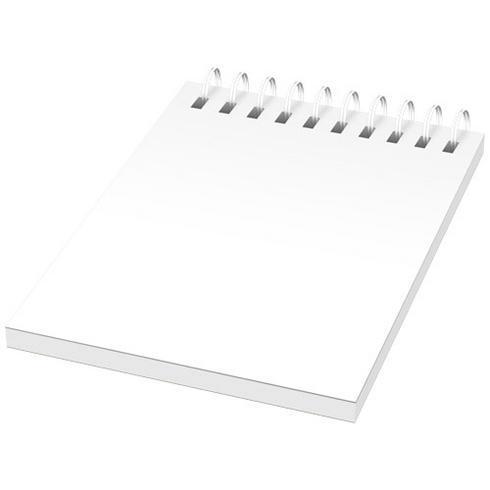 Desk-Mate® A7 Notizbuch mit Kunststoff Cover und Spiralbindung
