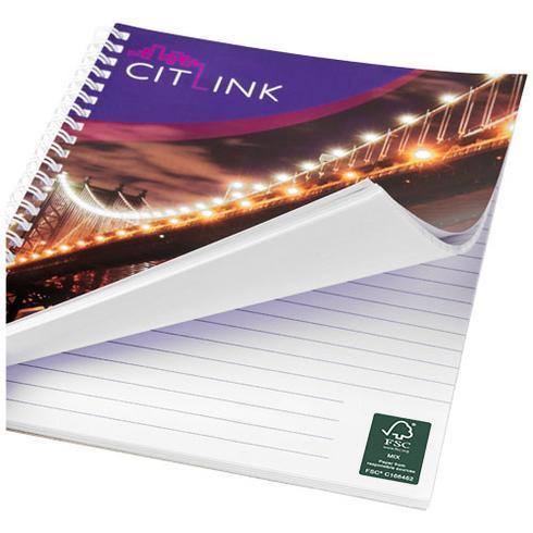 Desk-Mate® A5 Notizbuch mit Spiralbindung