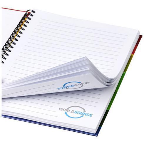 Wiro A6 Notizblock mit Hardcover und Spiralbindung
