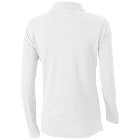 Oakville Langarm Poloshirt für Damen