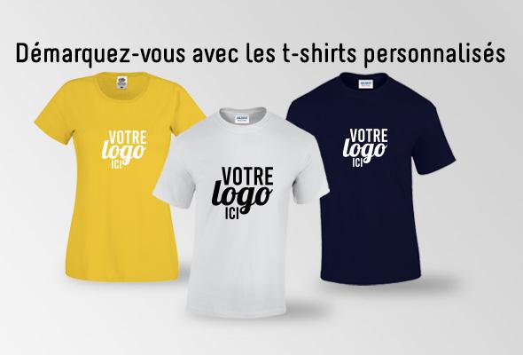 T-shirts avec logo