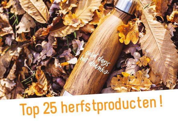 Top 25 herfstproducten