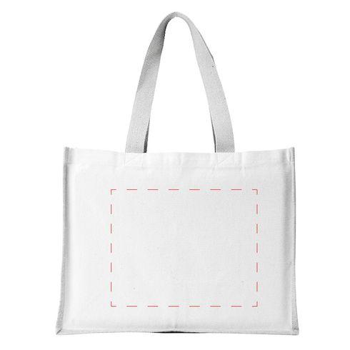 Jute Canvas Shopper sac de courses
