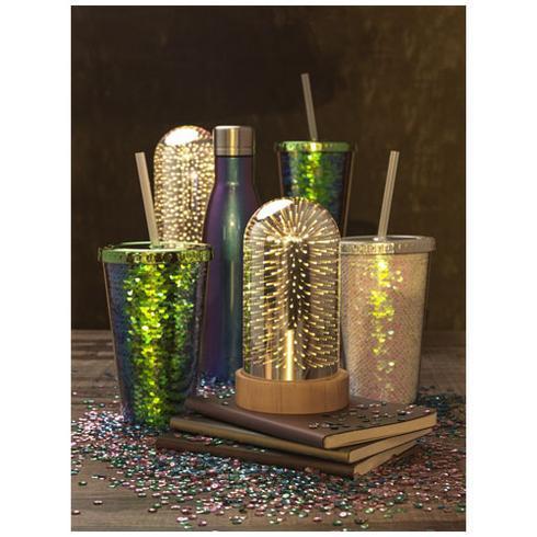 Gobelet à paillettes en acrylique 470 ml Festus