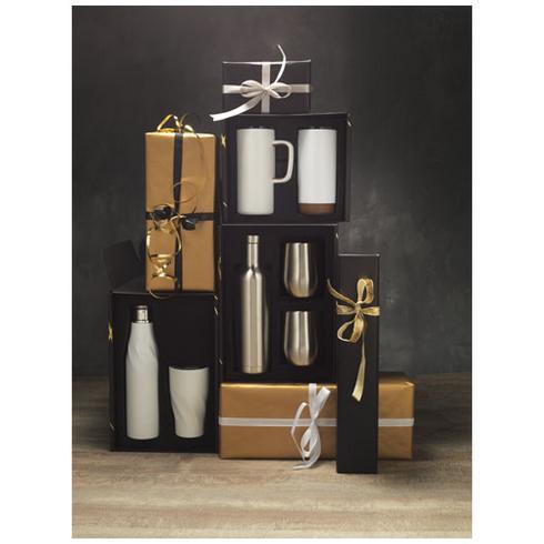 Coffret cadeau avec contenants ayant isolation par le vide et couche de cuivre Pinto et Corzo