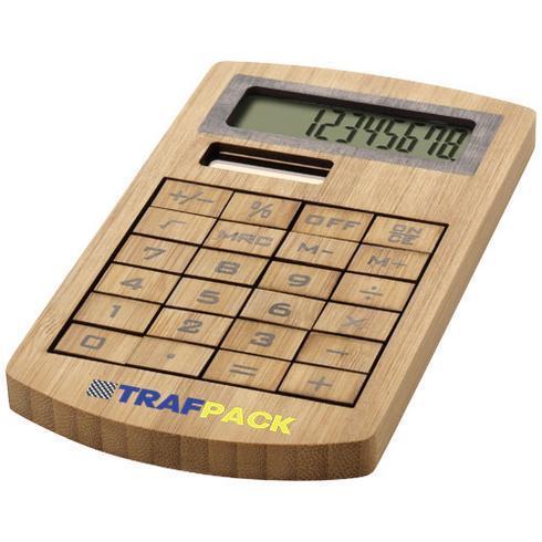 Calculatrice en bambou Eugene