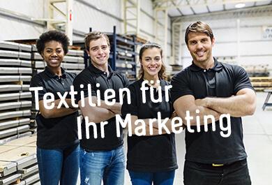 Textilien für Ihre Werbung