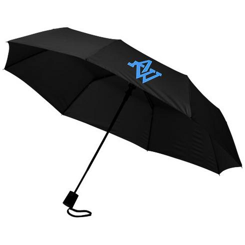 """Wali 21"""" Automatik Kompaktregenschirm"""