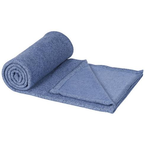 Pim melierte Plaid-Decke aus Fleece