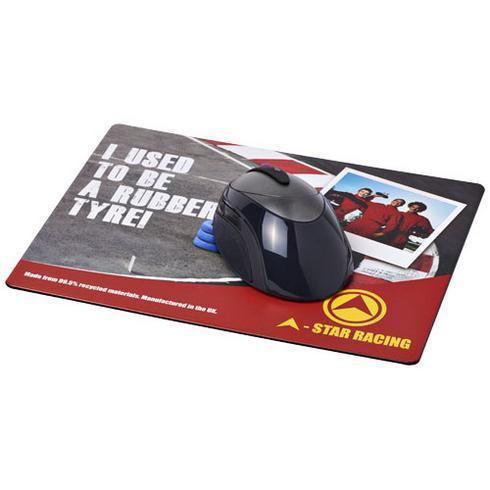 Brite-Mat® Mauspad mit Reifenmaterial