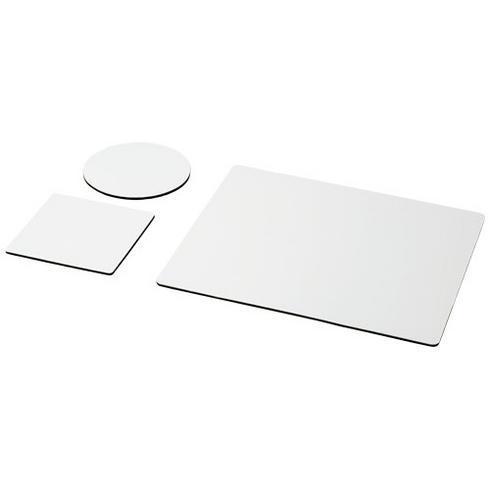 Q-Mat® Mauspad- und Untersetzer-Set 1