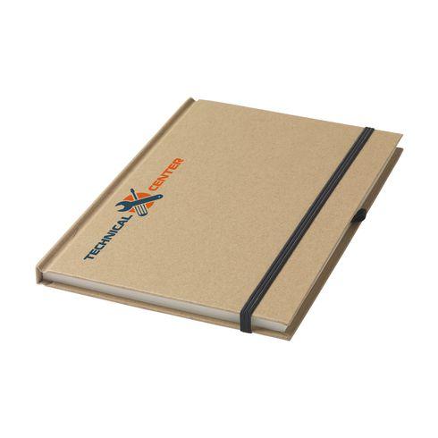Umweltfreundliches A5-Notizbuch mit Ihrer Marke versehen