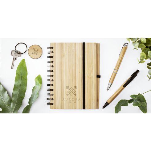 Bamboo Key Circle Schlüsselhänger