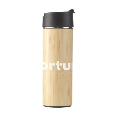 Sakura 360 ml Bambus Thermoskanne/Thermobecher