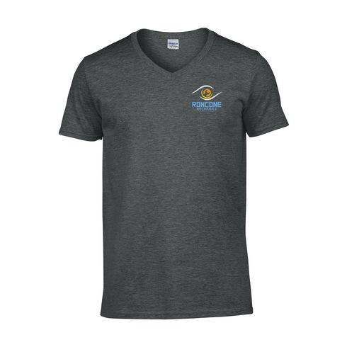 Gildan Quality-V-Shirt Herren