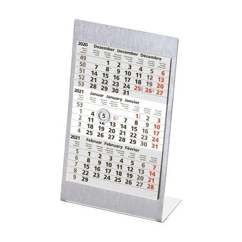 Plano Steel 3-Monatskalender
