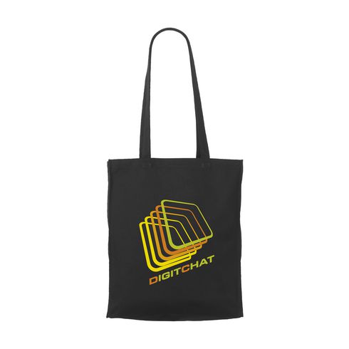 Black Canvas Tasche