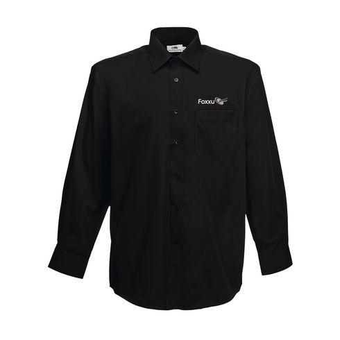Poplin LongSleeve Herrenhemd