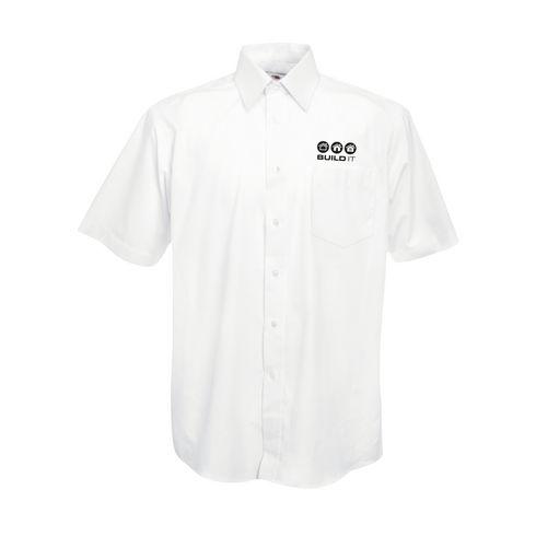 Poplin ShortSleeve Herrenhemd