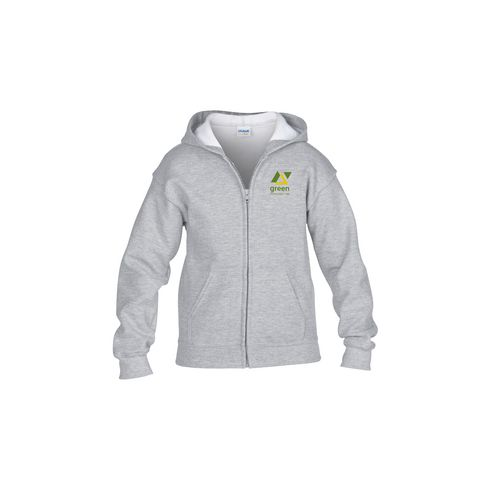 Gildan HoodedZipSweater Kinder