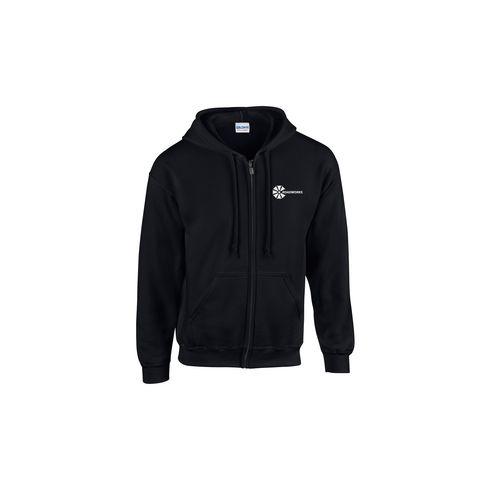 Gildan HoodedZipSweater Herren