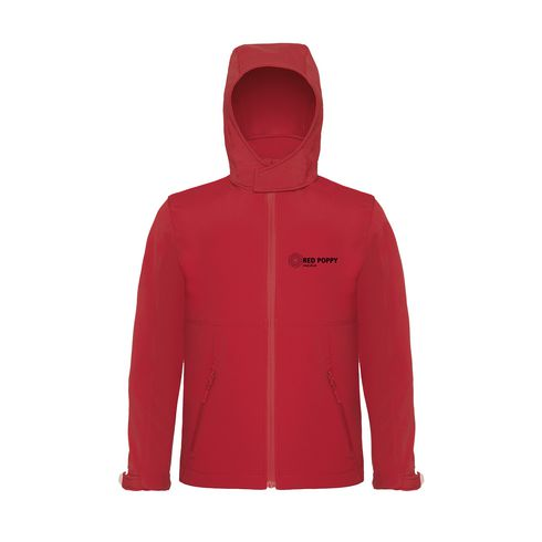 B&C Hooded Softshell Kinder