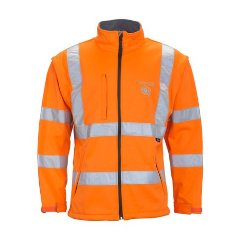 High Visibility Softshelljacke