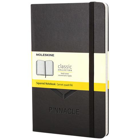 Classic Hardcover Notizbuch Taschenformat – kariert