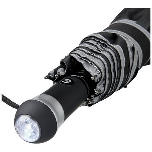 "Luminous 27"" Vollautomatik Kompaktregenschirm mit LED"