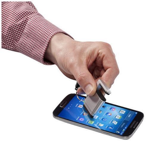 Gogo Bildschirmreiniger und Smartphonehalterung