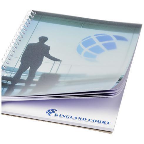 Desk-Mate® A5 Notizbuch mit Kunststoff Cover und Spiralbindung