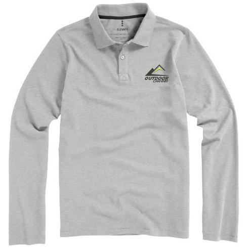 Oakville Langarm Poloshirt für Herren