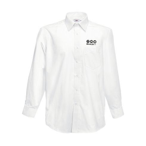 Poplin LongSleeve herreskjorte
