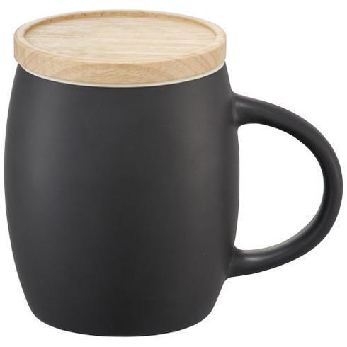 Hearth keramik krus med træ låg