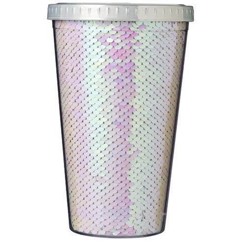 Festus 470 ml paillet akryl bæger