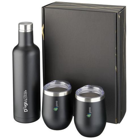 Pinto- og Corzo kobber vakuum-isoleret gavesæt