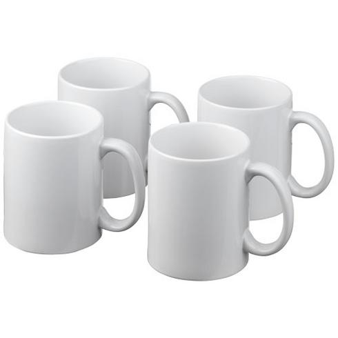 Ceramic gavesæt med 4 krus