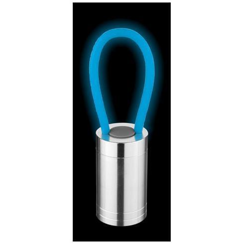 Vela lygte med 6 LED-lys og selvlysende rem