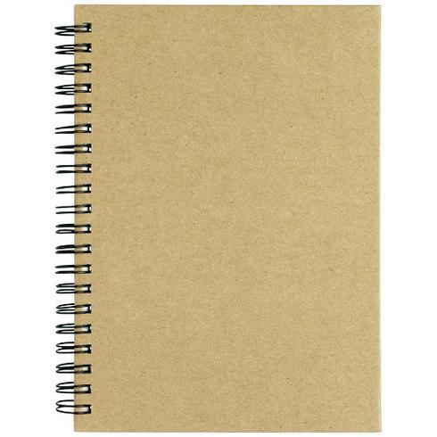 Mendel notesbog af genbrugsmaterialer