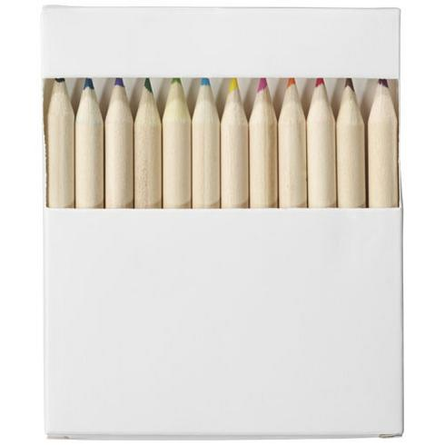 Doris farvesæt i 22 dele med tegnepapir