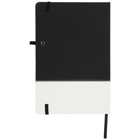 Two-tone A5 notesbog med farveblok