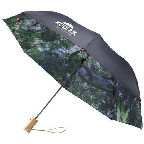 """Forest 21"""" foldbar paraply med automatisk åbning"""