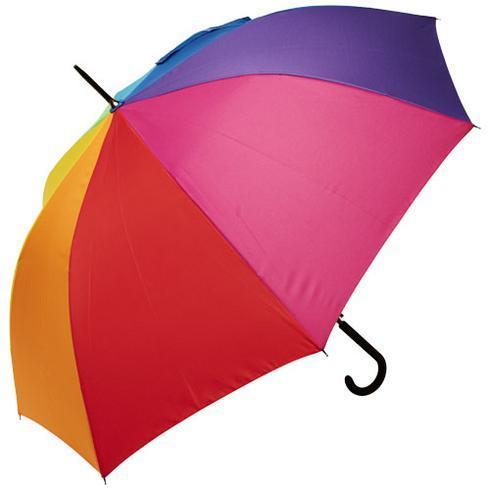 Sarah 58 cm vindfast paraply med automatisk åbning