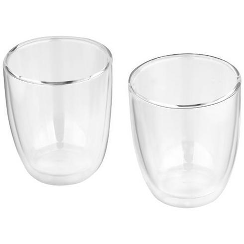 Boda sæt med 2 glas