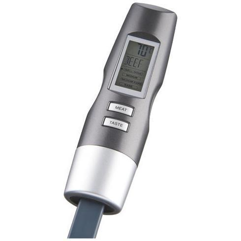 Wells digital stegegaffel med termometer